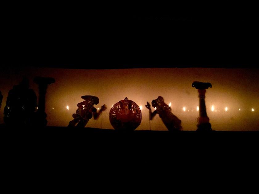 shadow puppetry kerala, kerala artforms, kerala off the beaten path, nila river