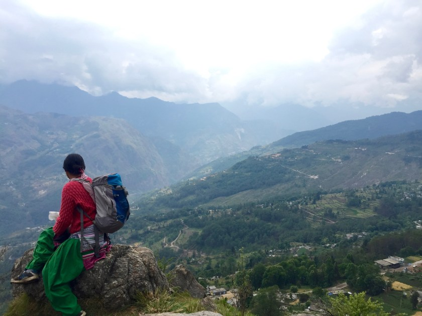 female guides india, sarmoli uttarakhand, uttarakhand offbeat