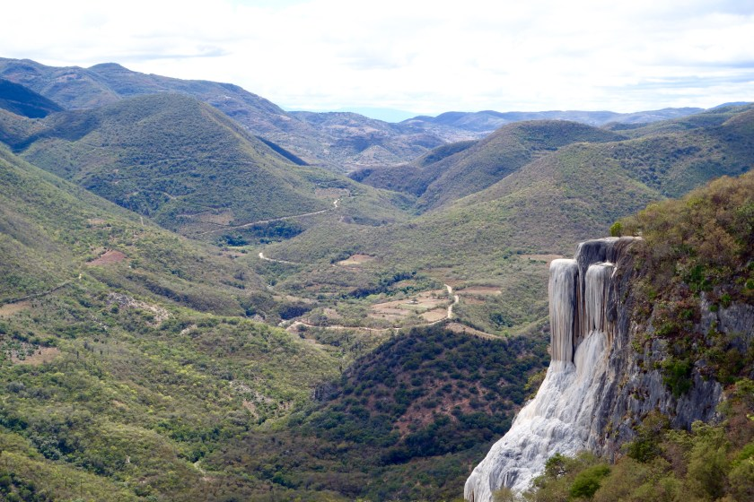 hierve el agua, natural wonders of mexico, places to visit in mexico
