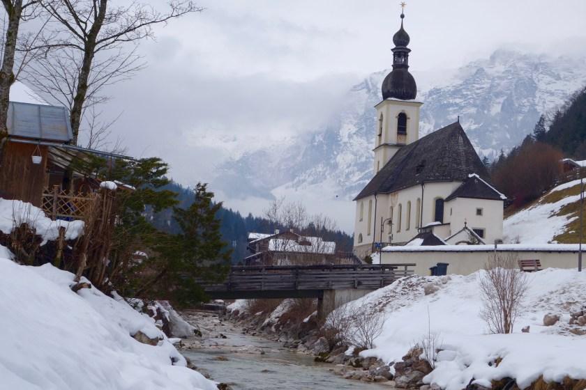 Berchtesgaden national park, Bavarian Alps, Ramsau germany