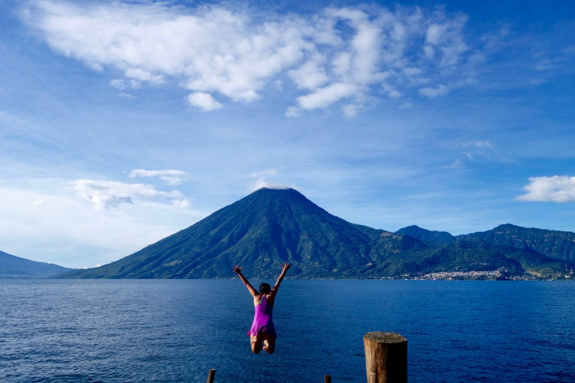 shivya nath, indian travellers, long term travel, lake atitlan guatemala