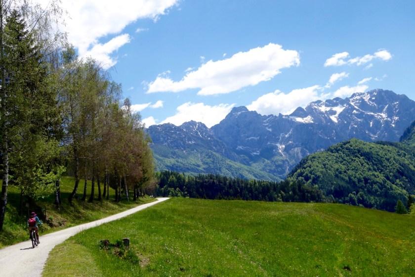 Slovenian alps cycling, Logarska dolina