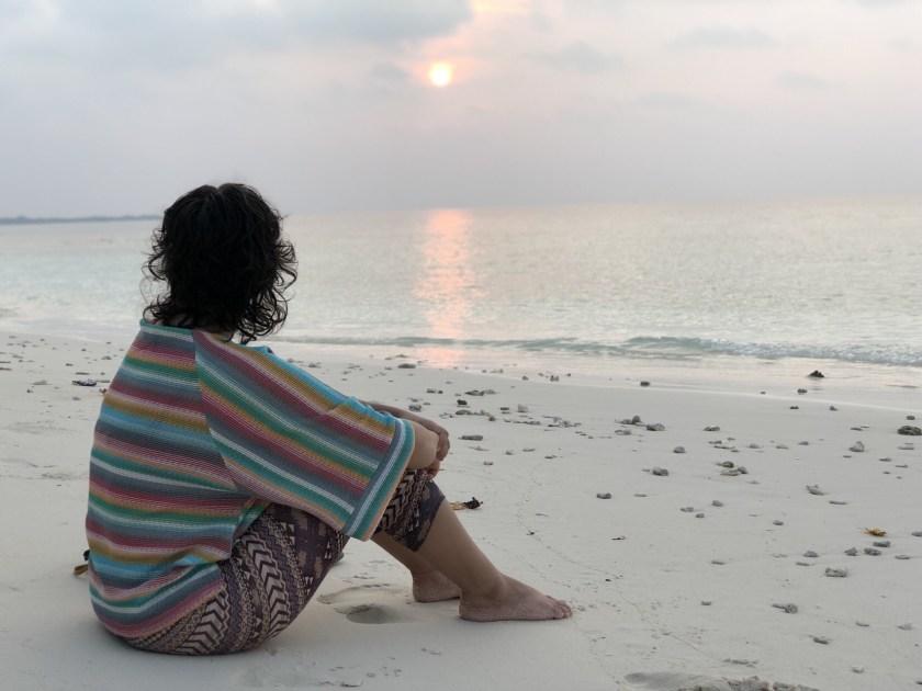 Maldives sunset, Maalhos sunset, Madi Finolhu maldives