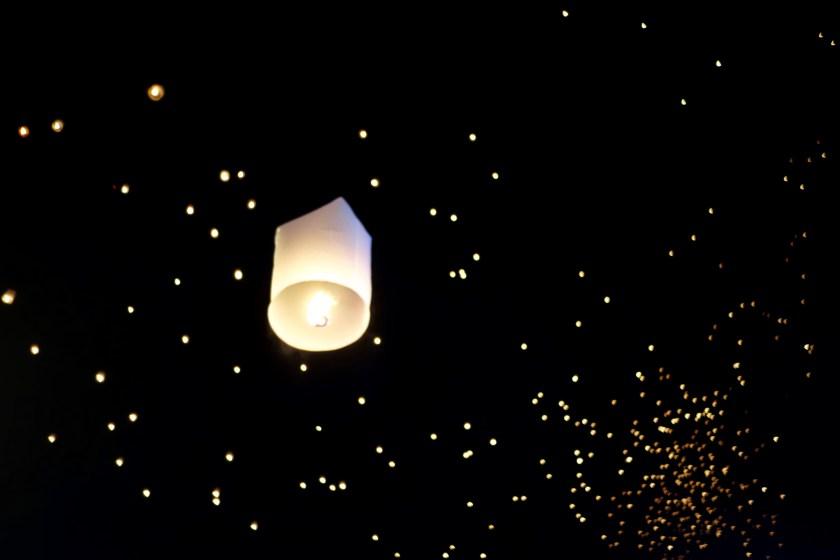 chiang mai lantern, thailand lantern festival, new years eve chiang mai