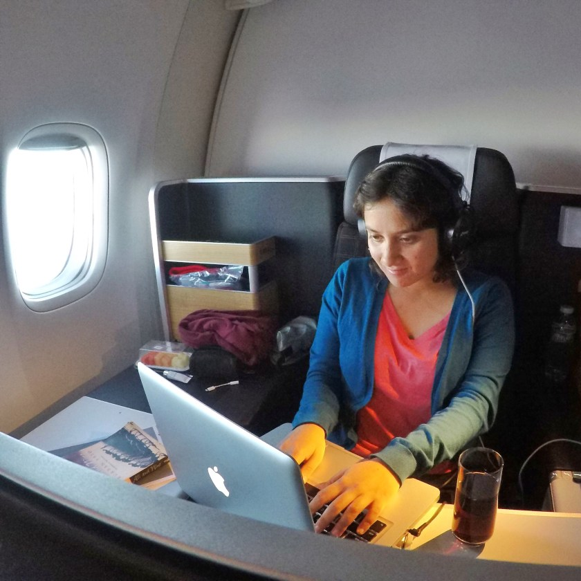 Swiss airlines business class, digital nomads india
