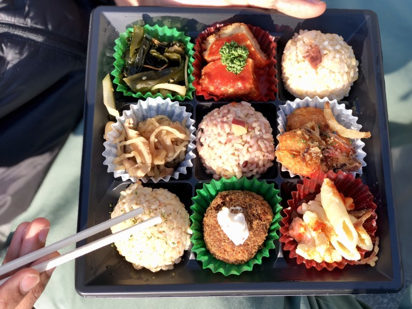Japan bento box, Japan vegan food, is Japan worth visiting