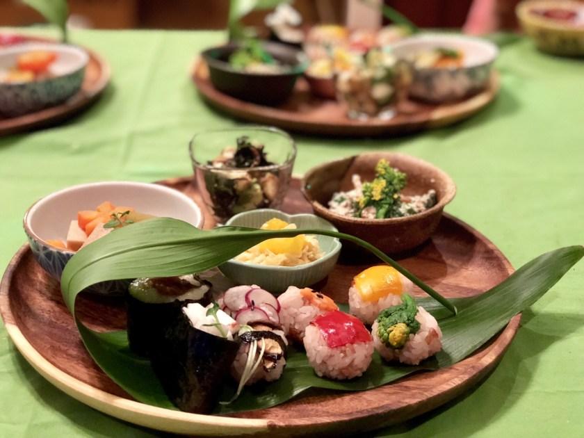 vegan food japan, macrobiotic food japan, japan vegan travel
