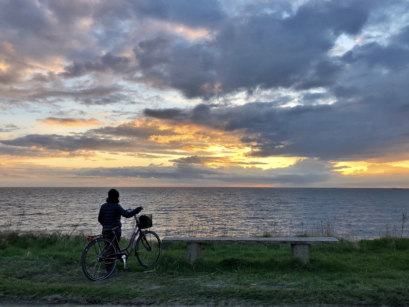 Bornholm denmark, bornholm cycling, rain bornholm