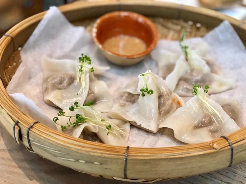 grassroots pantry hong kong, vegan dumplings hong kong, vegan food hong kong