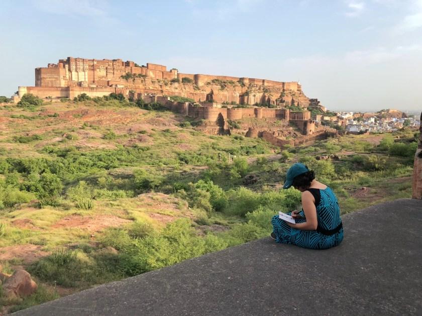 rao jodha desert rock park jodhpur, jodhpur things to do, jodhpur travel blog