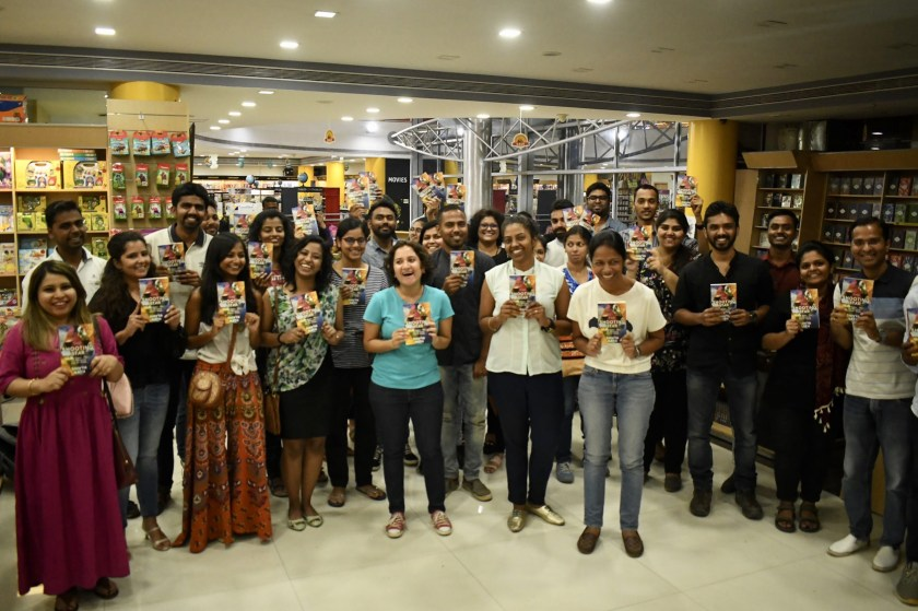 the shooting star book launch pune, travel writers india