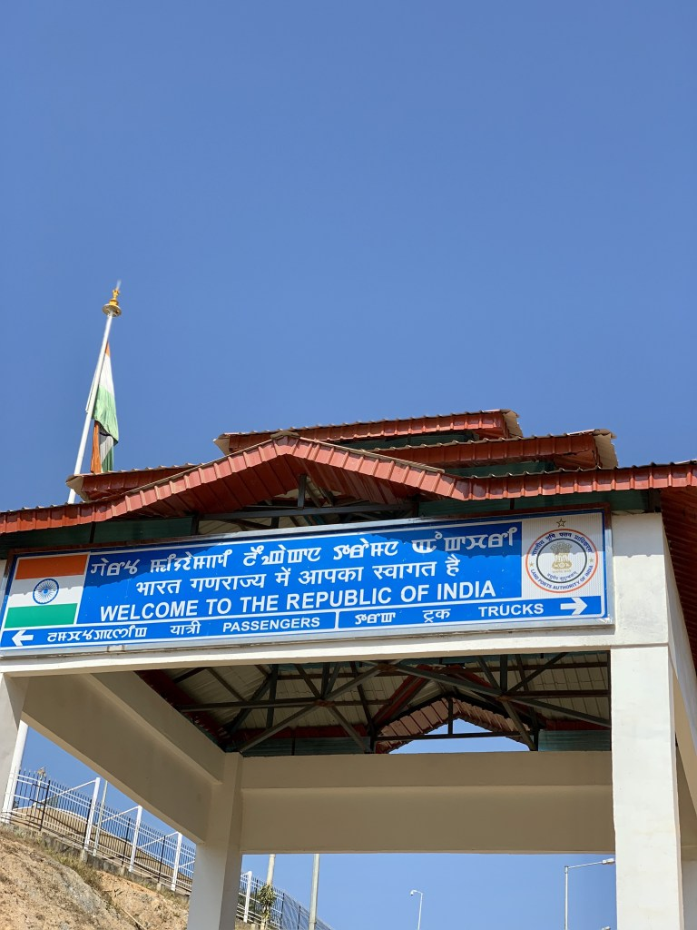 india to myanmar by road, manipur myanmar border crossing, moreh tamu border crossing