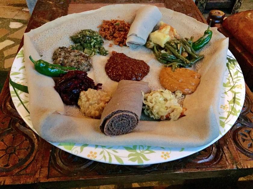 travelling as a vegan, vegan food, ethiopia vegan travel