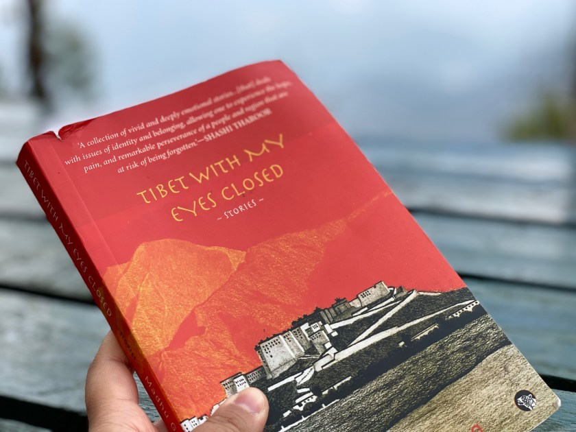 Books to read while travelling, tibet with my eyes closed