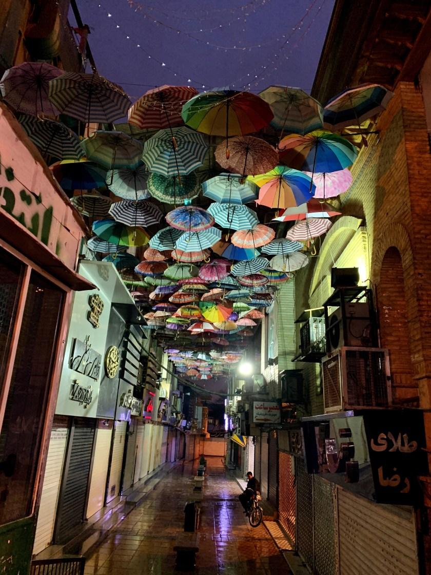 shiraz umbrellas, shiraz photos