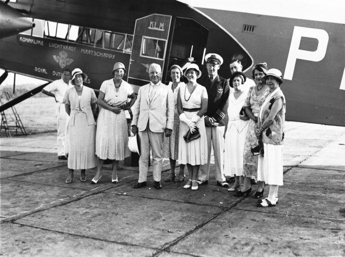 air travel history, klm history, early aircrafts