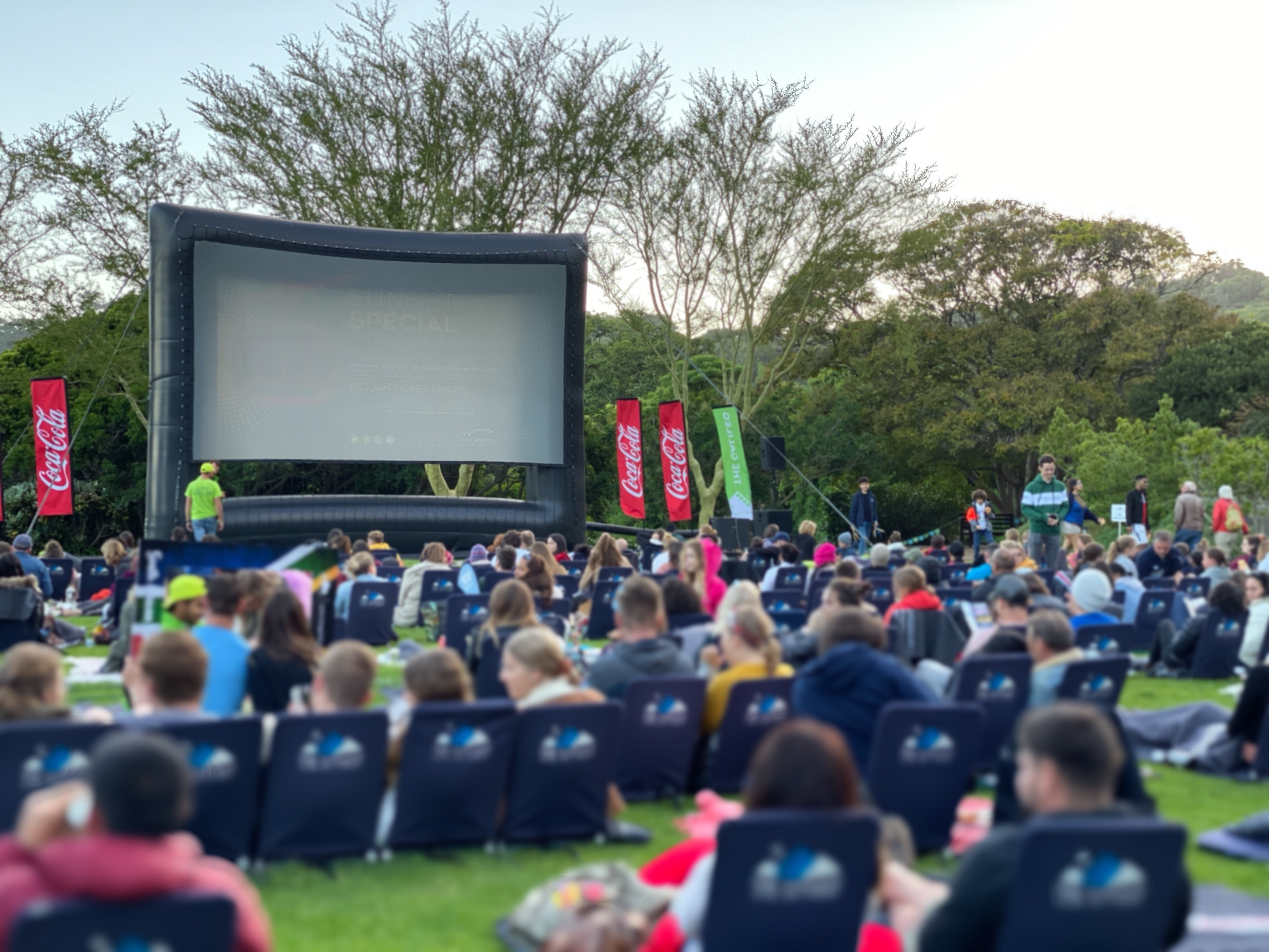 kirstenbosch outdoor cinema