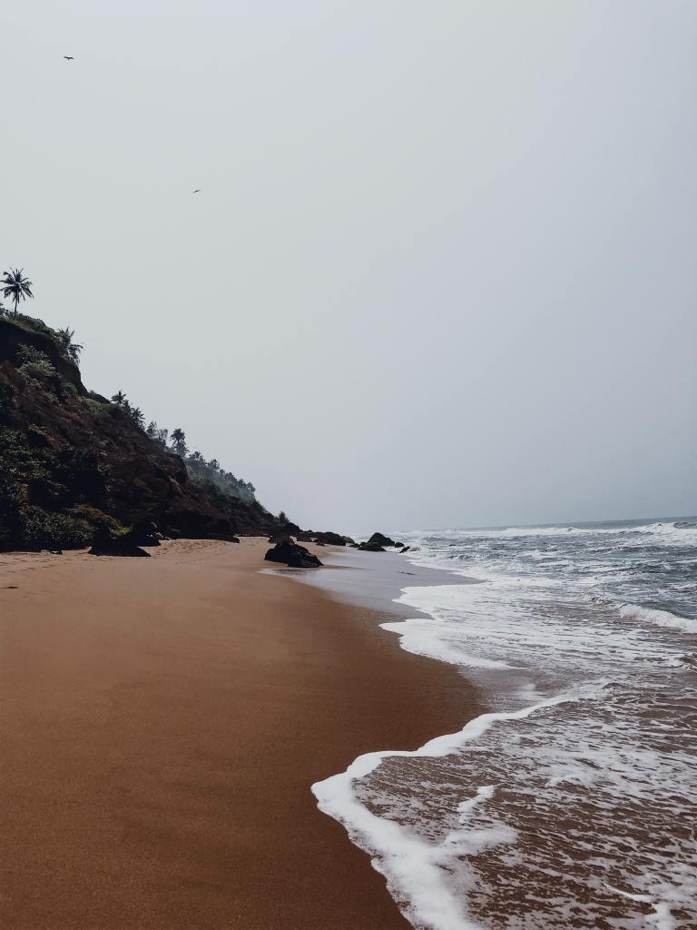kerala beach, north kerala, kerala offbeat