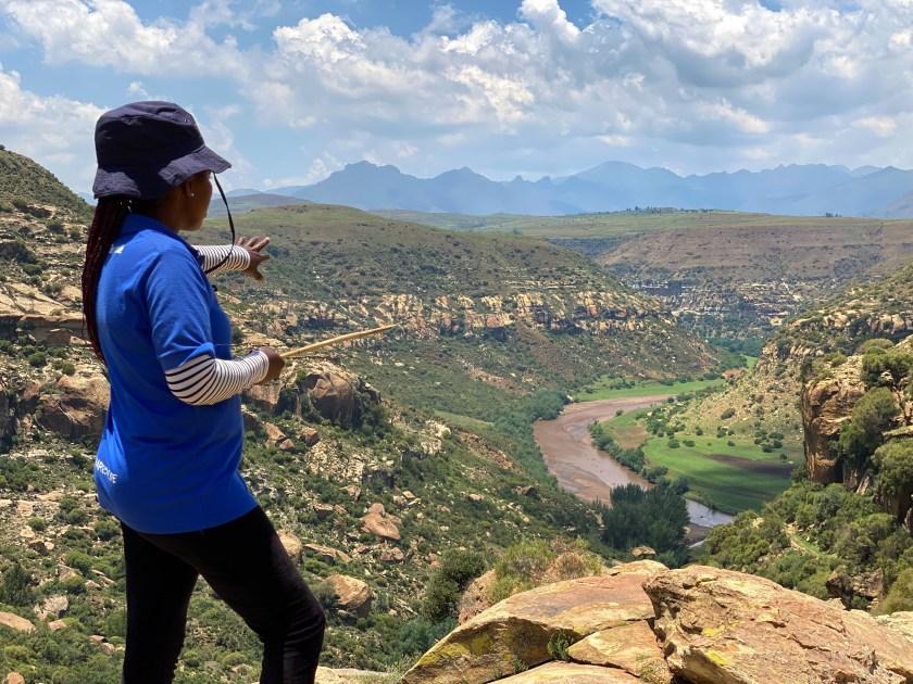 malealea lodge lesotho, lesotho female hiking guide, lesotho hiking