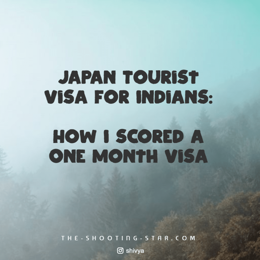 japan tourist visa for indians, japan visa for indian