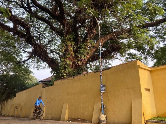 cycling fort kochi