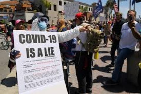 Protesters Decry Coronavirus Stay-At-Home Orders Across The US, Including  San Diego | KPBS