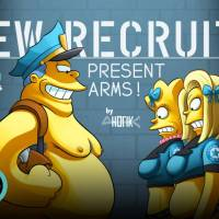 The Simpsons - New Recruits