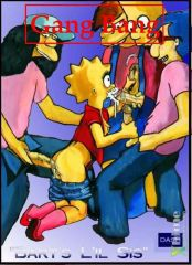 The Simpsons – Gang Bang – Bart's Lil Sis