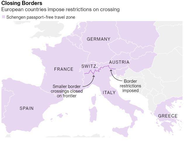 EU: Coronavirus might force us to close borders - THE Slovenia