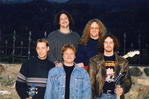 Gruppenfoto The Coverband Strongbow 2001
