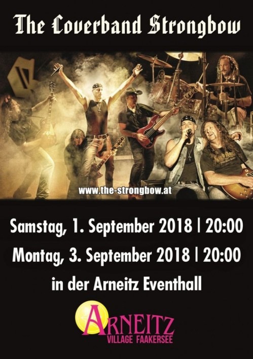 Plakat - Arneitz 2018 - Coverband Strongbow