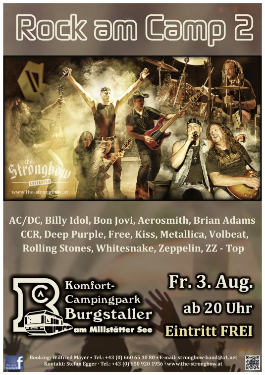 Rock am Camp 2 - 2018 - The Coverband Strongbow