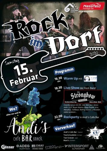 Rock im Dorf - 2019 - The Coverband Strongbow