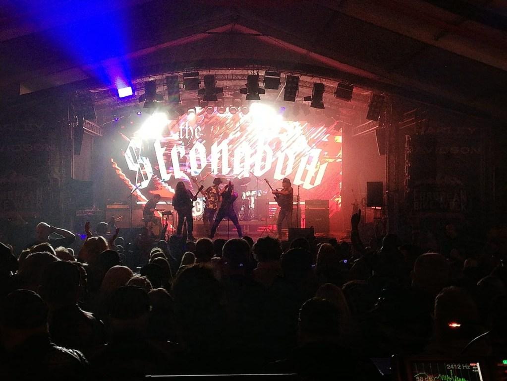 The Strongbow Rockband Live European Bike Week Faak am See 2019