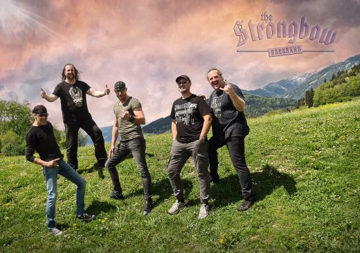 The Strongbow Rockband Gruppenfoto 2021