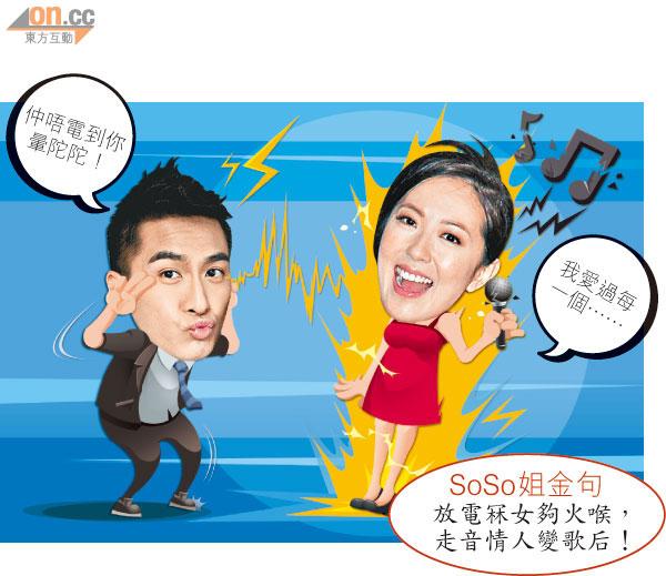 馬國明放電累唐詩詠走音 - 太陽報