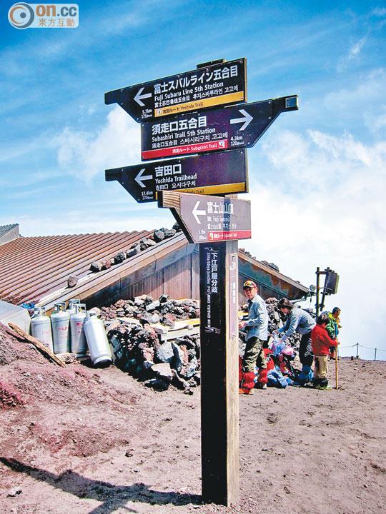 富士山登頂實錄 - 太陽報