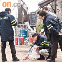 燃燒彈炸回收場拘兩漢 - 太陽報