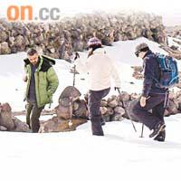由港人及土耳其人組成的探索隊,過去兩年在亞拉臘山展開探索挪亞方舟的旅程。