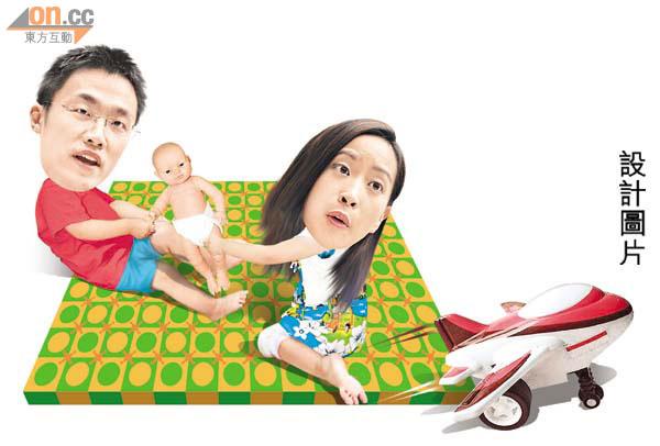 政情:楊哲安坡妹為BB懶訪滬 - 太陽報
