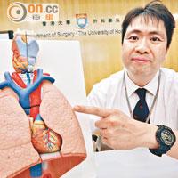 醫知健:針孔式微創治爆肺傷口細 - 太陽報
