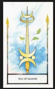 The Ace of Swords -The Triumph of A Will Power – The tarot