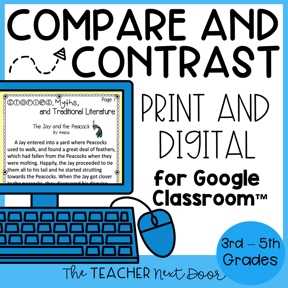 hight resolution of Compare and Contrast Activities – The Teacher Next Door