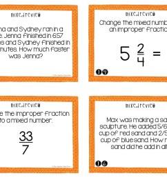 5th Grade Mixed Review Task Cards   5th Grade Test Prep Math Center – The  Teacher Next Door [ 816 x 1056 Pixel ]