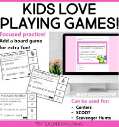 Choose Punctuation for Effect Game Print and Digital – The Teacher Next Door [ 960 x 960 Pixel ]