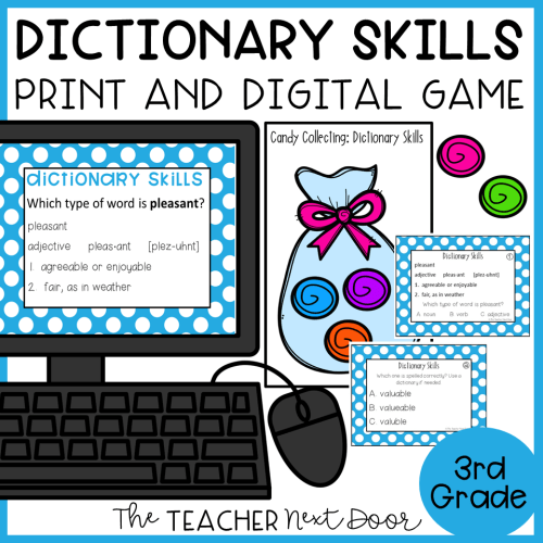 small resolution of Dictionary Skills Game Print and Digital – The Teacher Next Door