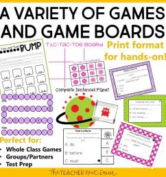 4th Grade Grammar Games Bundle Set 1 Print and Digital – The Teacher Next  Door [ 960 x 960 Pixel ]