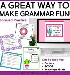 4th Grade Grammar Games Bundle Set 2 Print and Digital – The Teacher Next  Door [ 960 x 960 Pixel ]