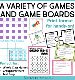 5th Grade Grammar Games Bundle Set 3 Print and Digital – The Teacher Next  Door [ 960 x 960 Pixel ]
