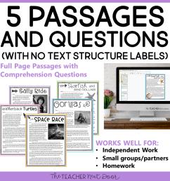 Informational Text Structures: Print and Digital for Google Classroom™ –  The Teacher Next Door [ 960 x 960 Pixel ]